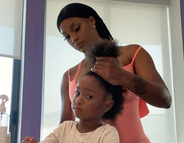 JOSELINE SHARES SWEET VIDEO OF DAUGHTER GING BUT FANS QUESTION LYRICS OF SONG